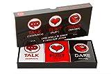 Lustiges und Romantisches Spiel für Paare: Karten-Set mit Konversationsstartern,...